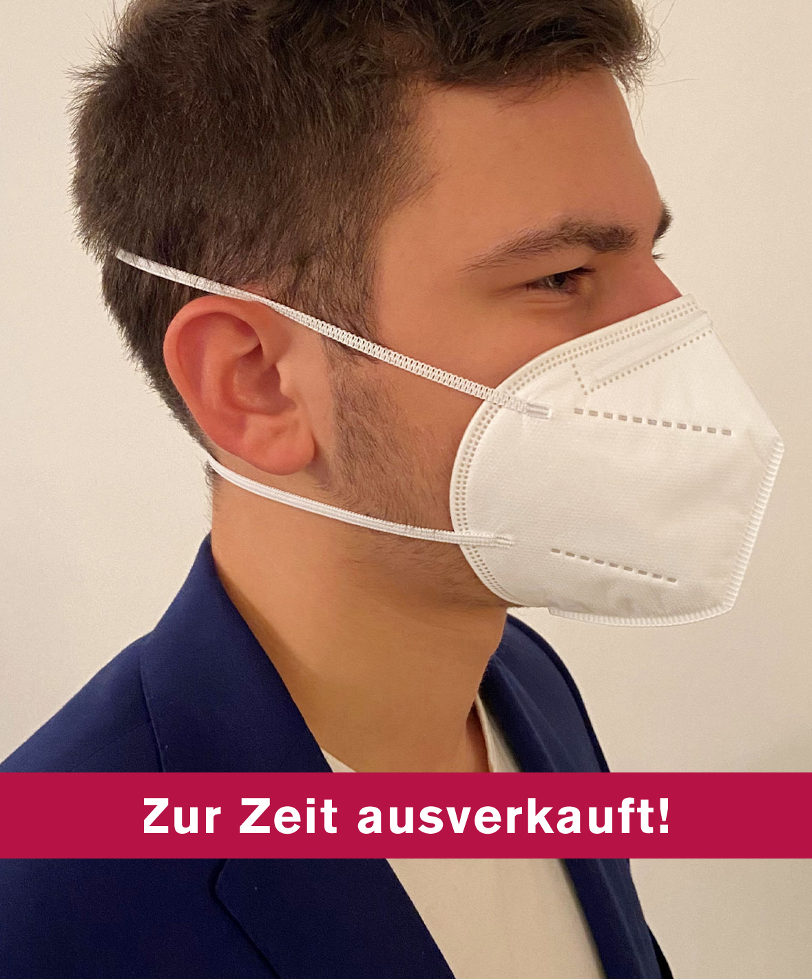 "FFP2-Maske ""Kopfgummi"" im 10er-Pack"
