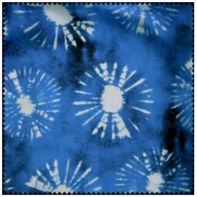Batik (blau) F9834