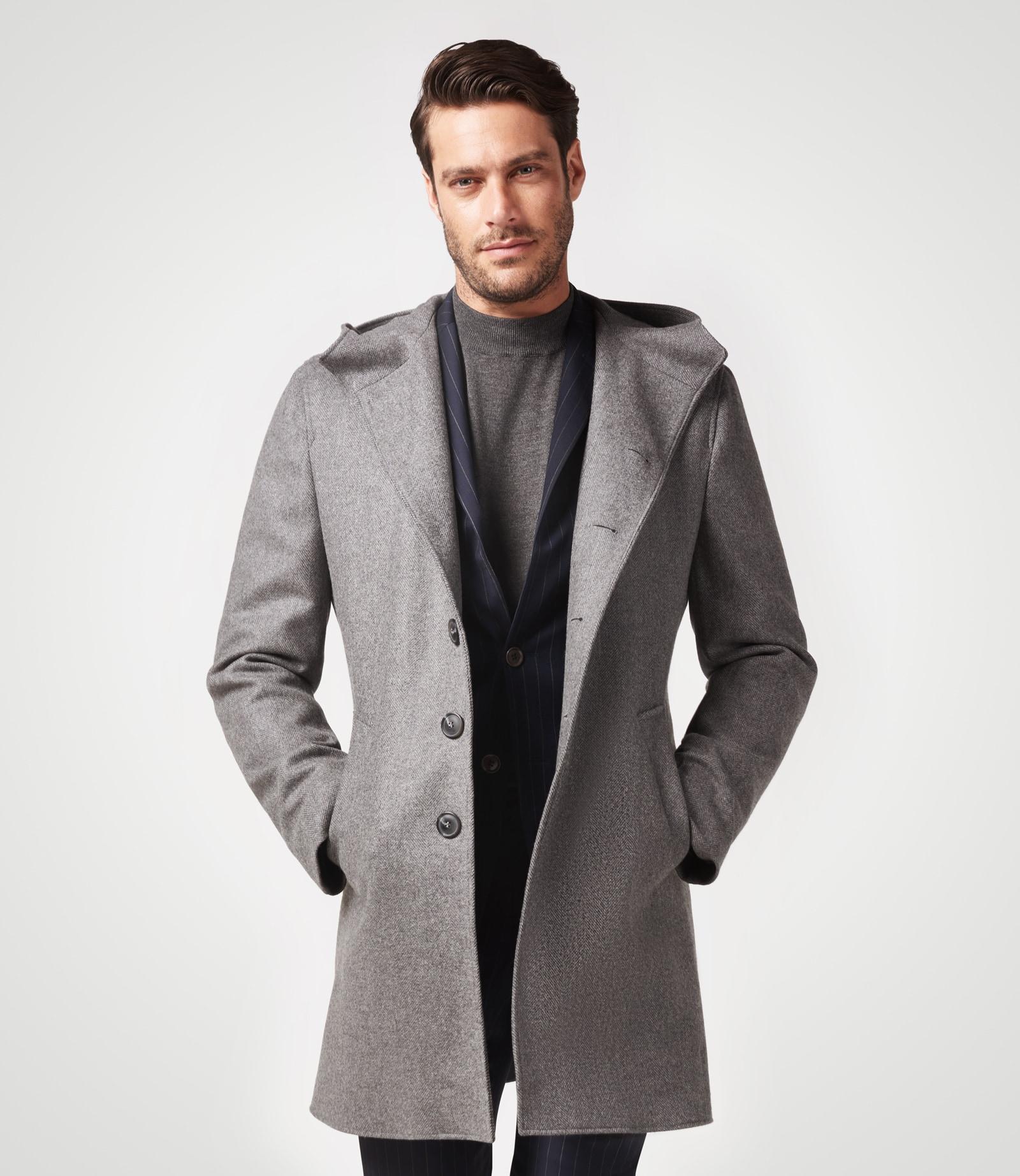 Sportiver Mantel mit Comfort-Stretch
