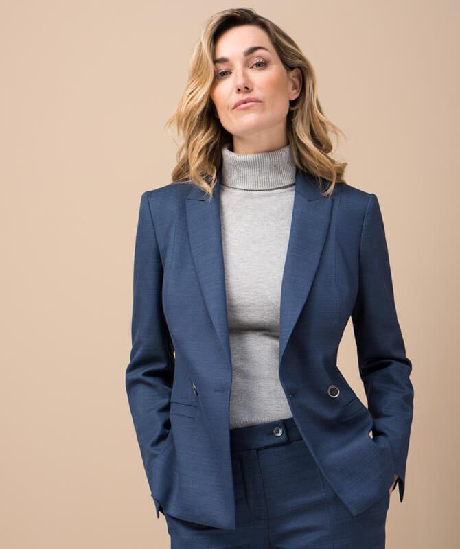 Blauer Dynamic Suit-Blazer