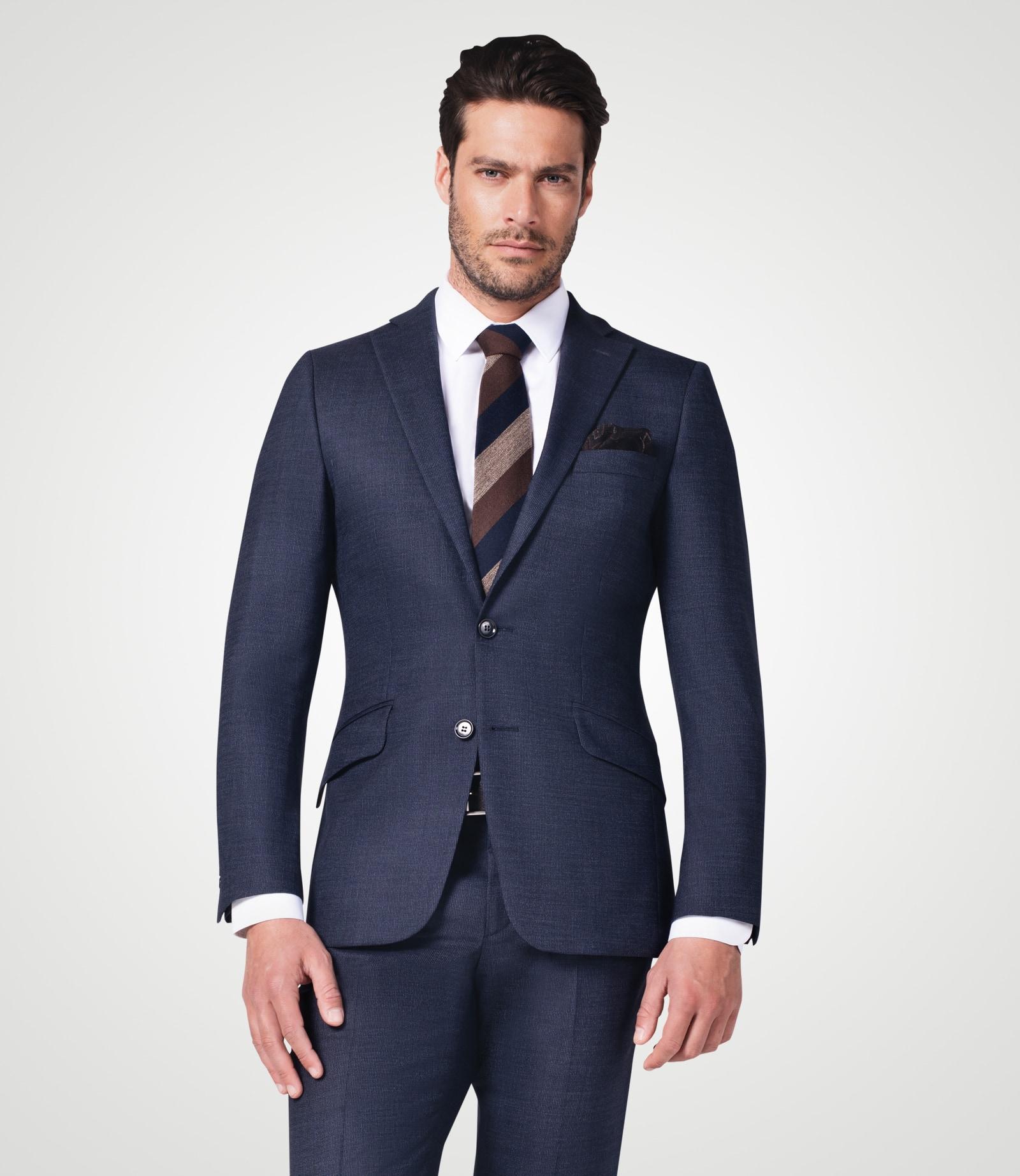 Anzug mit ultimativem Comfort und Seide