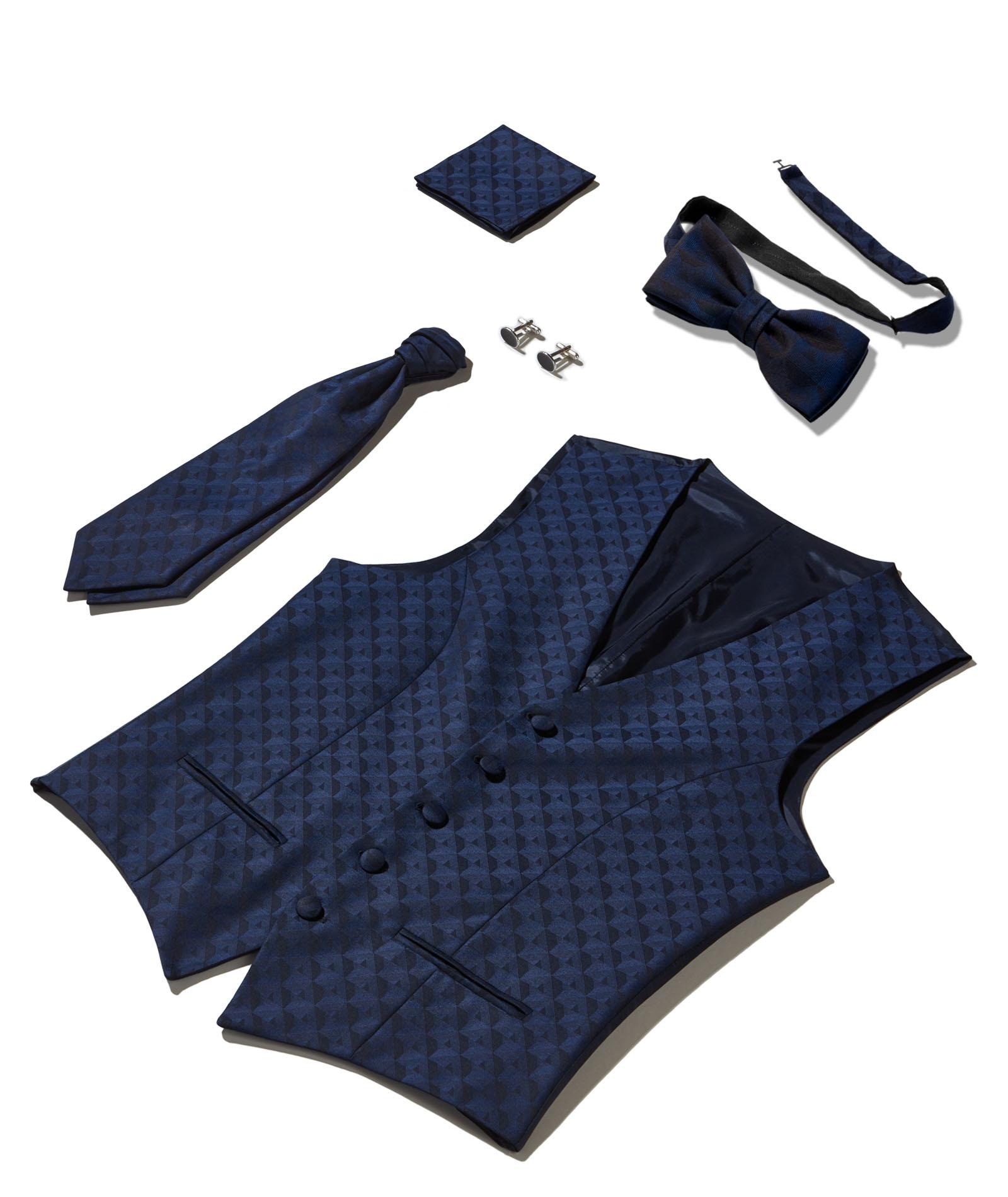 Nachtblau - Geometrisches Design