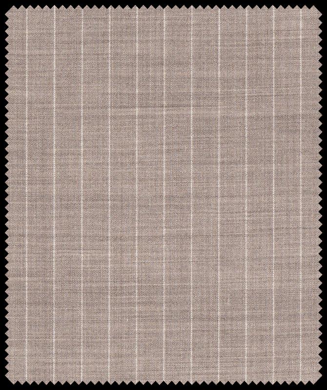 Zweireiher mit dezenten Streifen aus JEBRIC