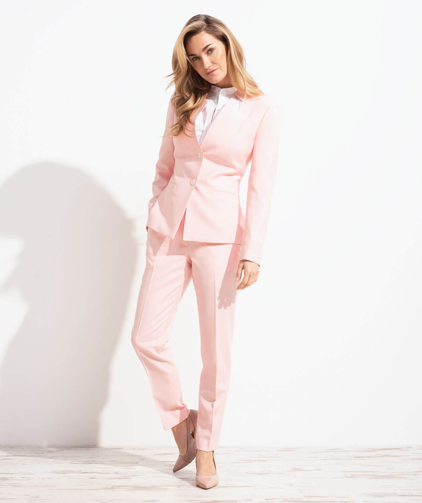 Pastell-Look in softem Rosa
