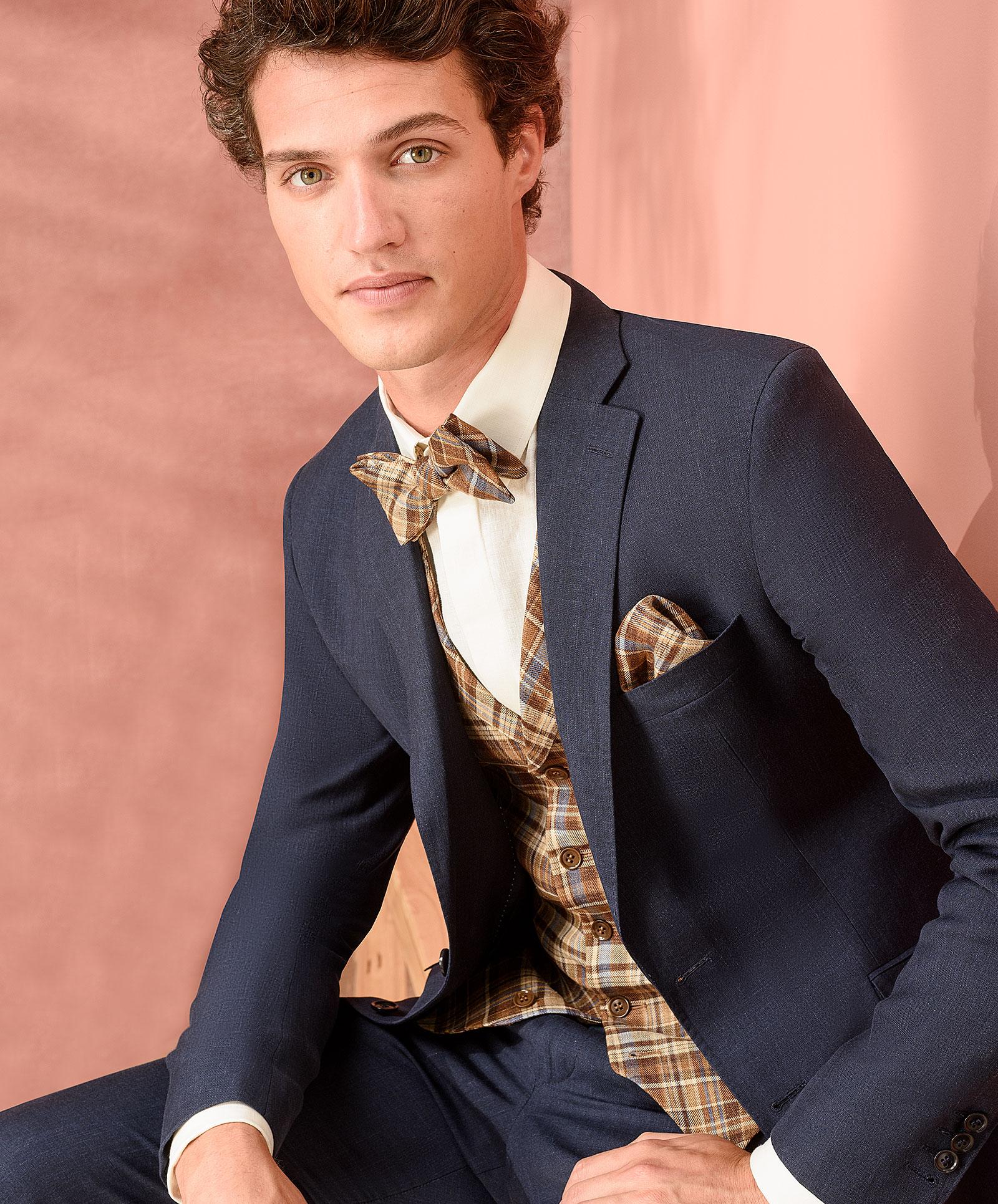 Rustikaler Anzug mit Vintage-Flair